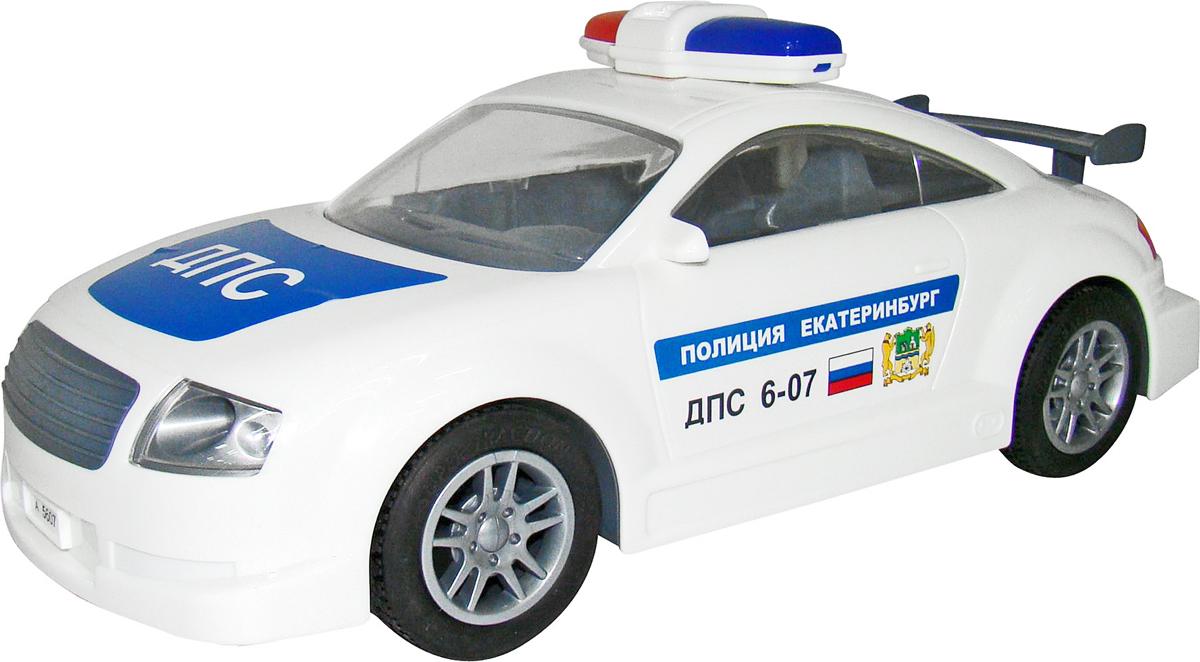 Полесье Автомобиль инерционный ДПС Екатеринбург, цвет в ассортименте