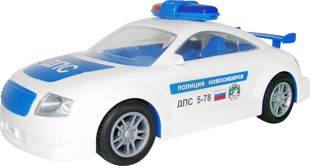 Полесье Автомобиль инерционный ДПС Новосибирск, цвет в ассортименте