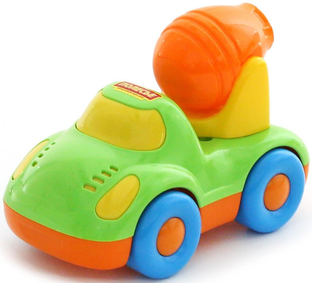 Фото - Полесье Бетоновоз Дружок, цвет в ассортименте полесье набор игрушек для песочницы 468 цвет в ассортименте