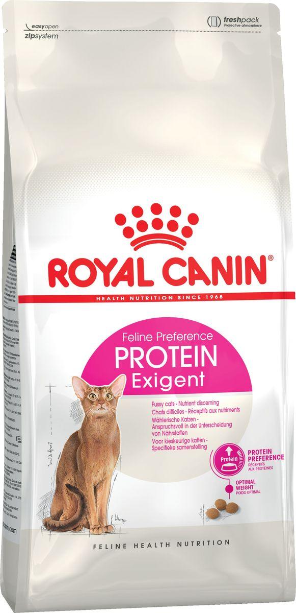 """Корм сухой Royal Canin """"Exigent 42 Protein preference"""", для кошек, привередливых к составу продукта, 4 кг"""