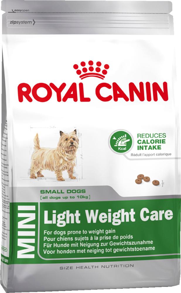 """Корм сухой Royal Canin """"Mini Light weight care"""", для взрослых собак склонных к ожирению, 2 кг"""