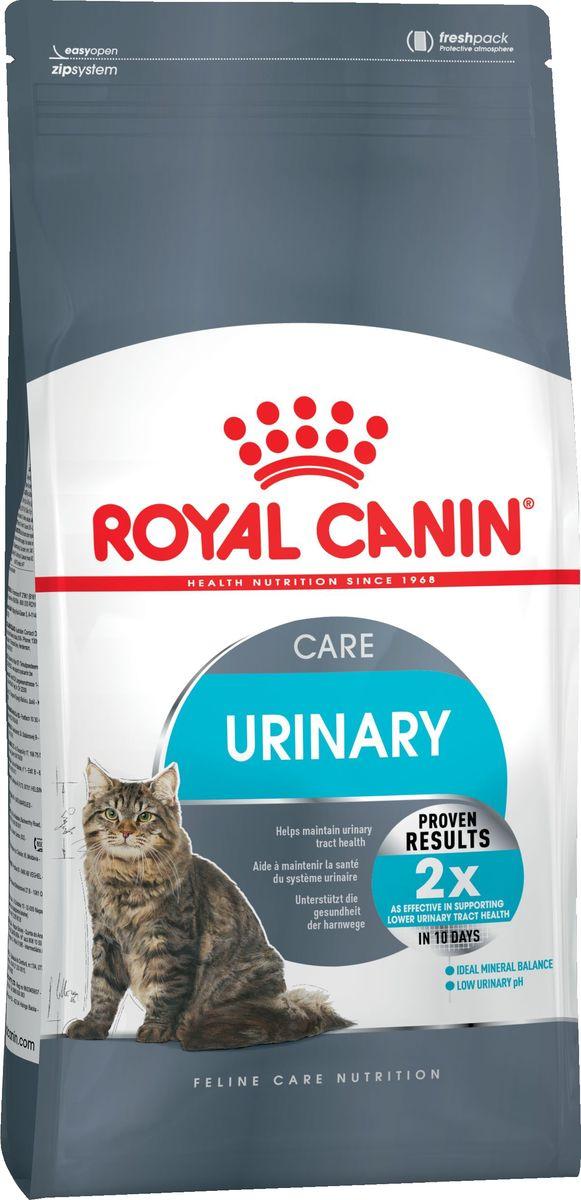 """Корм сухой Royal Canin """"Urinary Care"""", для кошек при лечении и профилактике мочекаменной болезни, 2 кг"""
