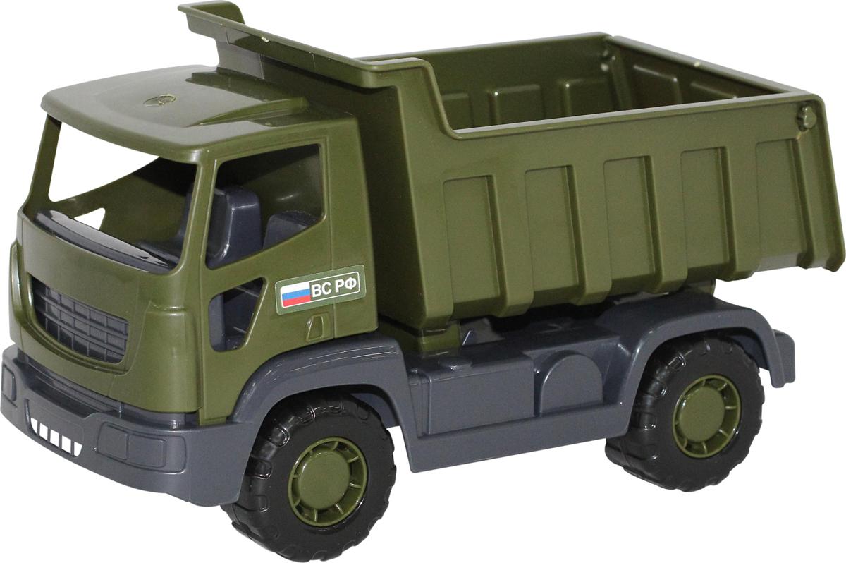 Полесье Военный самосвал Агат, цвет в ассортименте игрушка полесье агат 56429