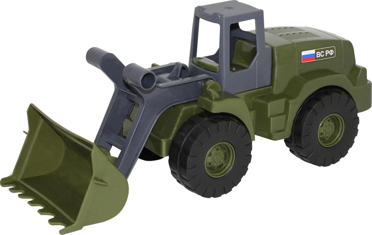 Полесье Военный трактор-погрузчик Агат, цвет в ассортименте игрушка полесье агат 56429