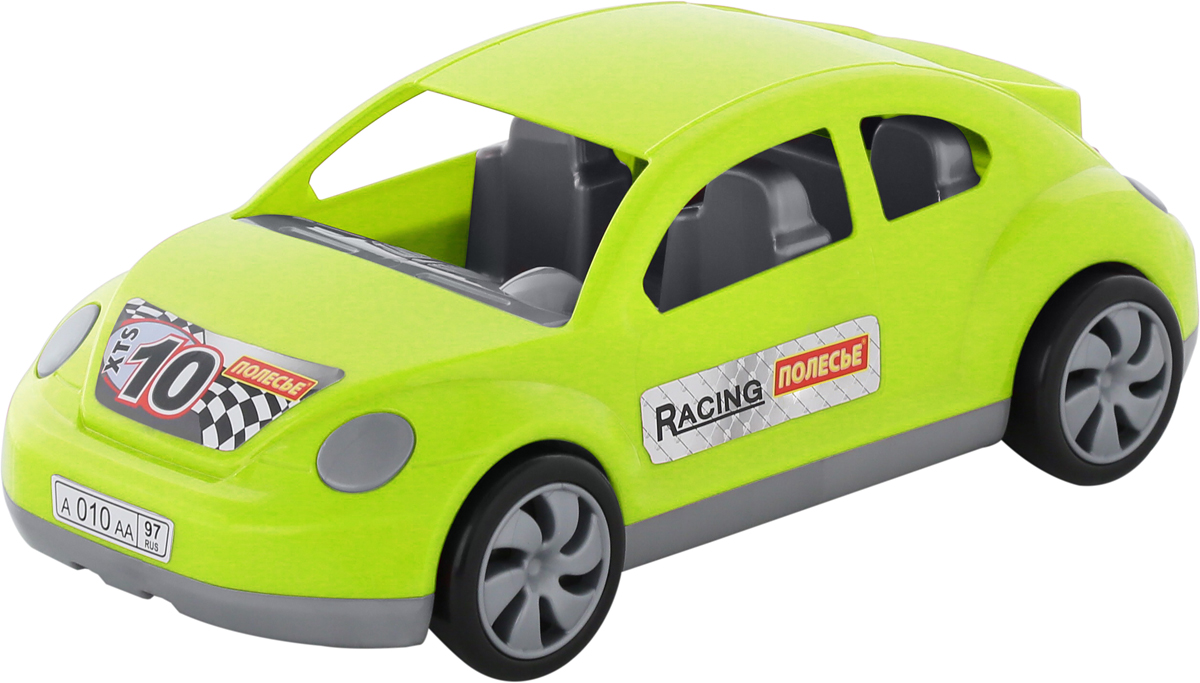 Полесье Гоночный автомобиль Меркурий, цвет в ассортименте автомобиль технопарк гонки цвет в ассортименте ebs868 r