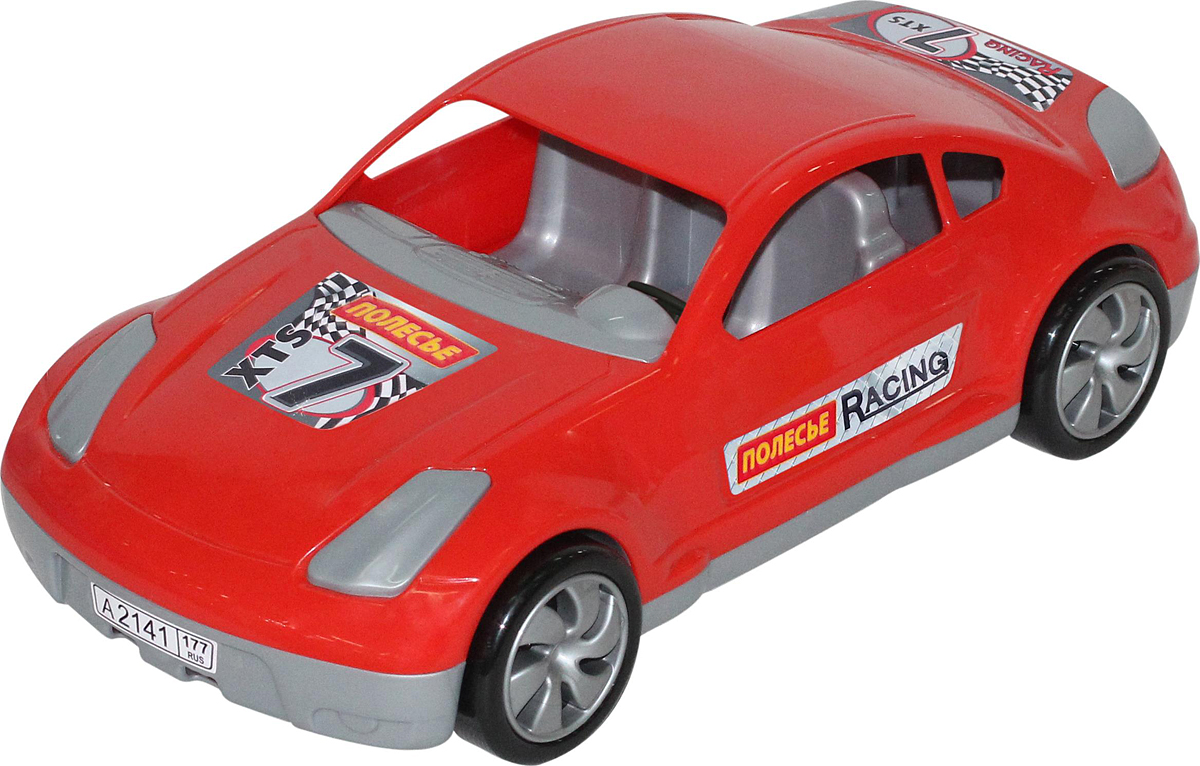 Полесье Гоночный автомобиль Юпитер-спорт, цвет в ассортименте автомобиль технопарк гонки цвет в ассортименте ebs868 r