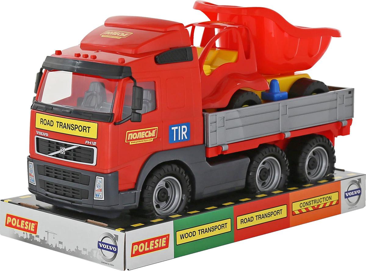Полесье Грузовик бортовой Volvo и Самосвал Муравей 58232, цвет в ассортименте полесье грузовик бортовой volvo цвет в ассортименте