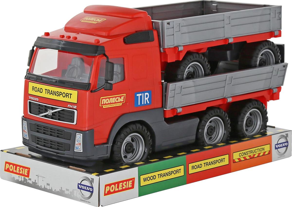 Полесье Грузовик бортовой Volvo с прицепом 58270, цвет в ассортименте полесье грузовик бортовой volvo цвет в ассортименте