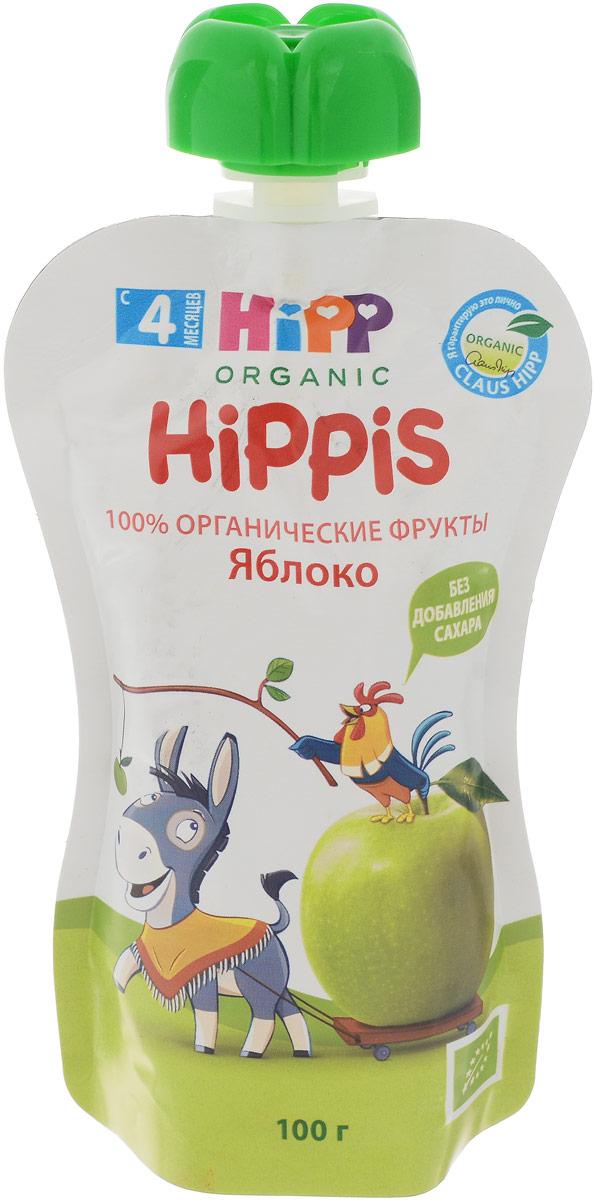 Hipp пюре яблоко, с 4 месяцев, 100 г