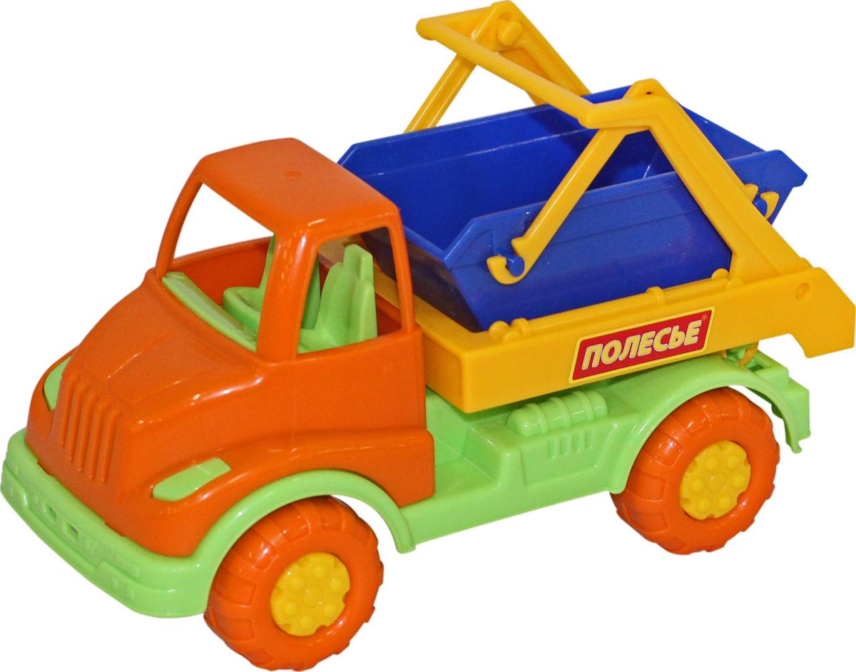 Полесье Коммунальная спецмашина Кнопик, цвет в ассортименте автомобиль коммунальная спецмашина полесье кнопик красная кабина