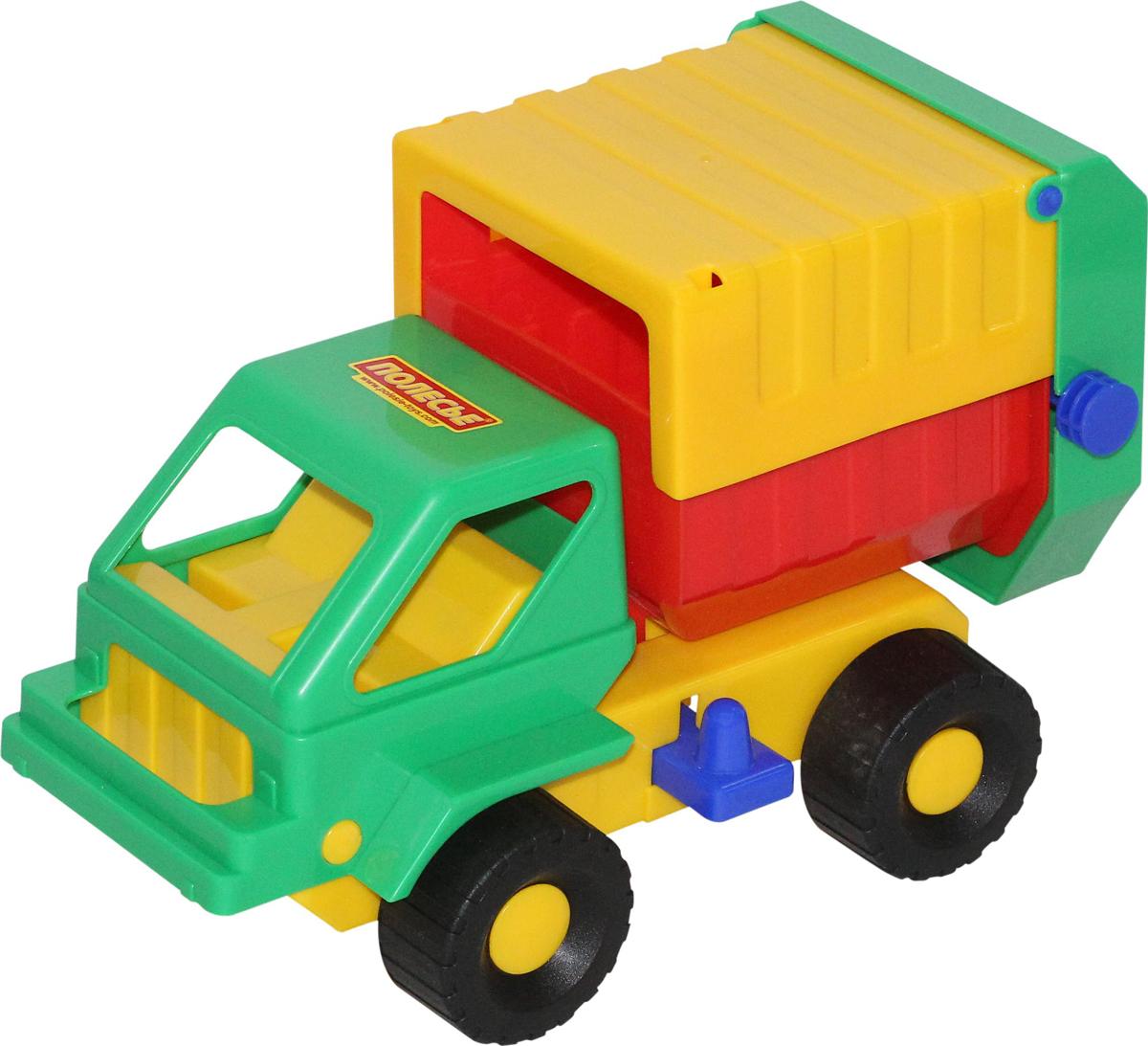 Полесье Коммунальная спецмашина Кузя, цвет в ассортименте автомобиль коммунальная спецмашина полесье кнопик красная кабина