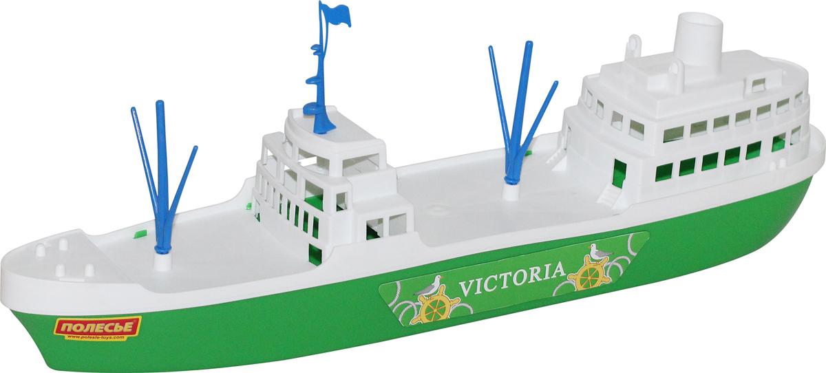 Фото - Полесье Корабль Виктория, цвет в ассортименте полесье набор игрушек для песочницы 468 цвет в ассортименте