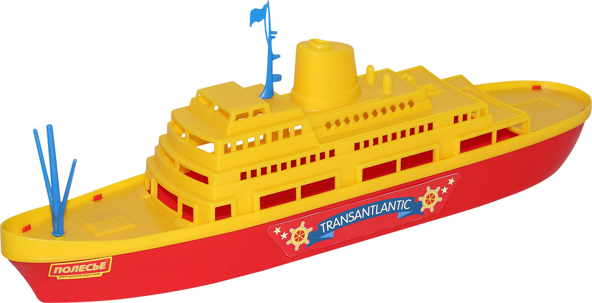 Фото - Полесье Корабль Трансатлантик, цвет в ассортименте полесье набор игрушек для песочницы 468 цвет в ассортименте