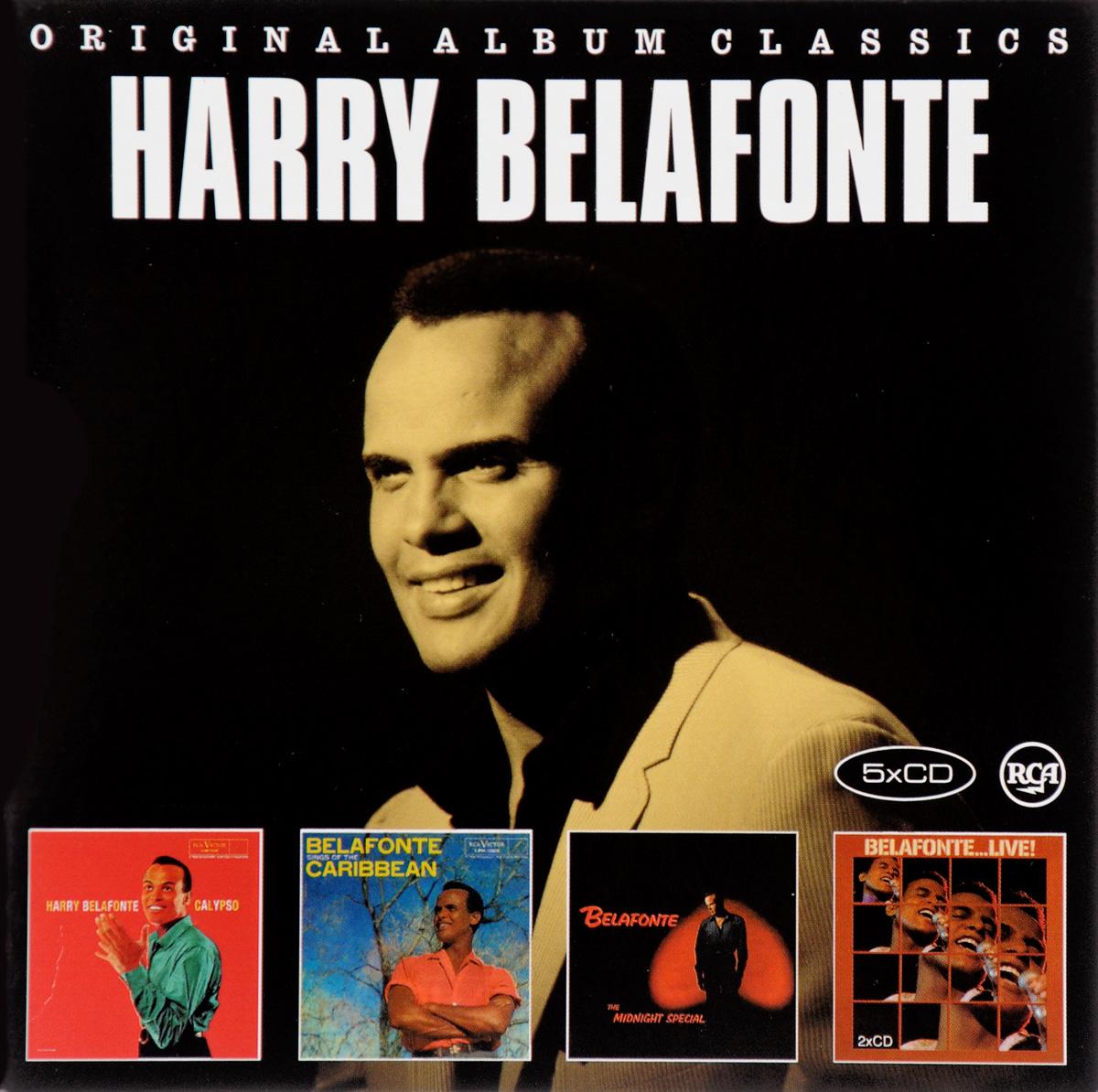 Гарри Белафонте Harry Belafonte. Original Album Classics (5 CD) цена и фото