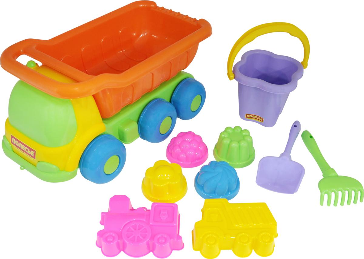 Полесье Набор игрушек для песочницы №128 Универсал, цвет в ассортименте