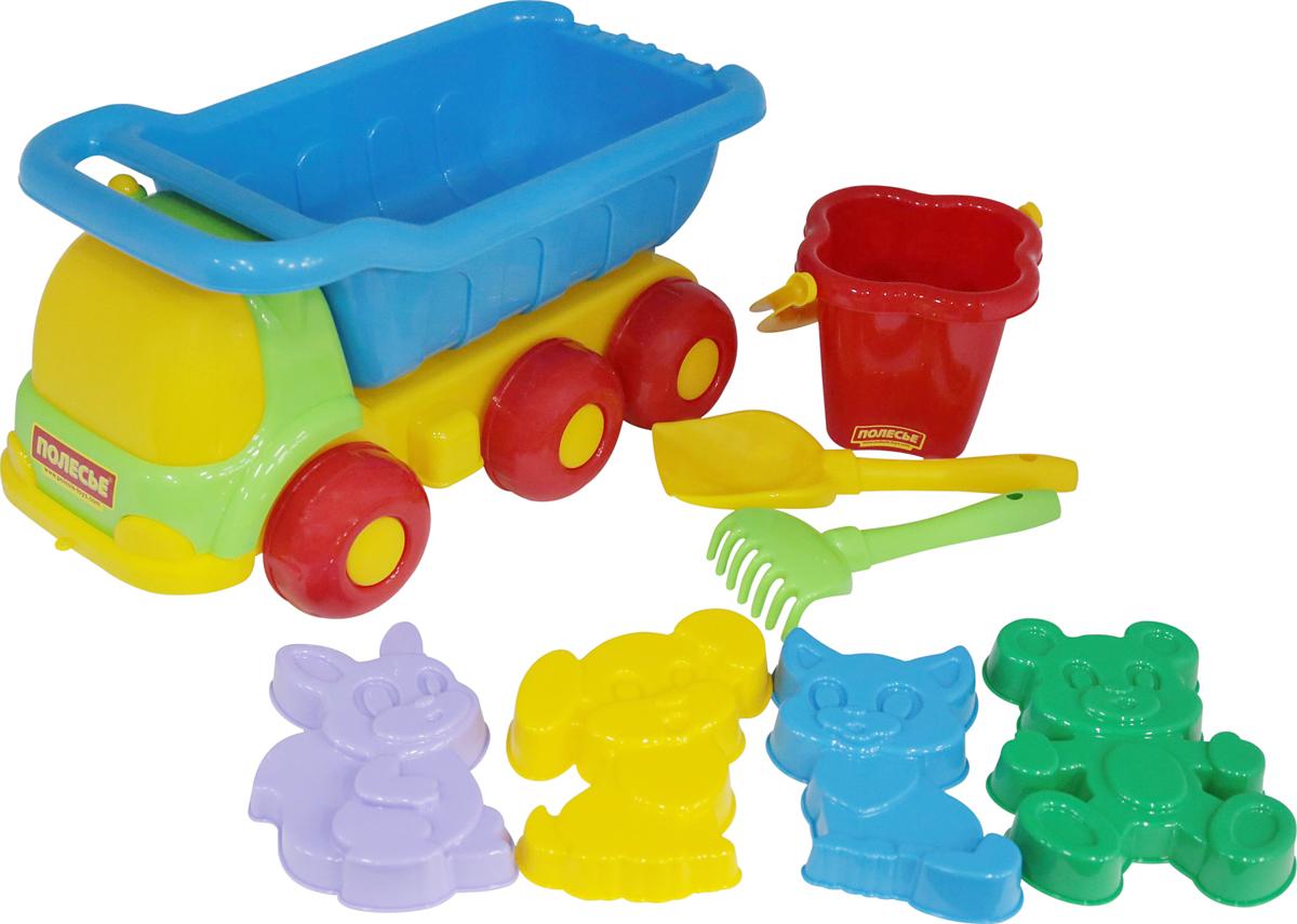 Полесье Набор игрушек для песочницы №129 Универсал, цвет в ассортименте