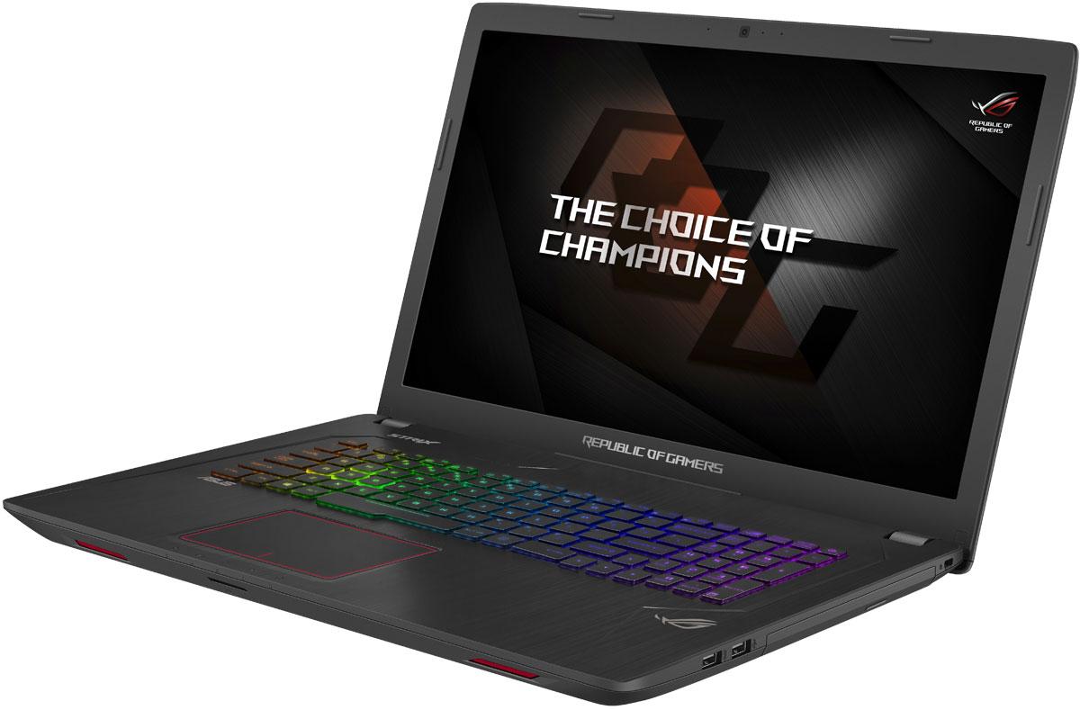 Игровой ноутбук ASUS ROG GL753VD, 90NB0DM2-M09260, 17.3