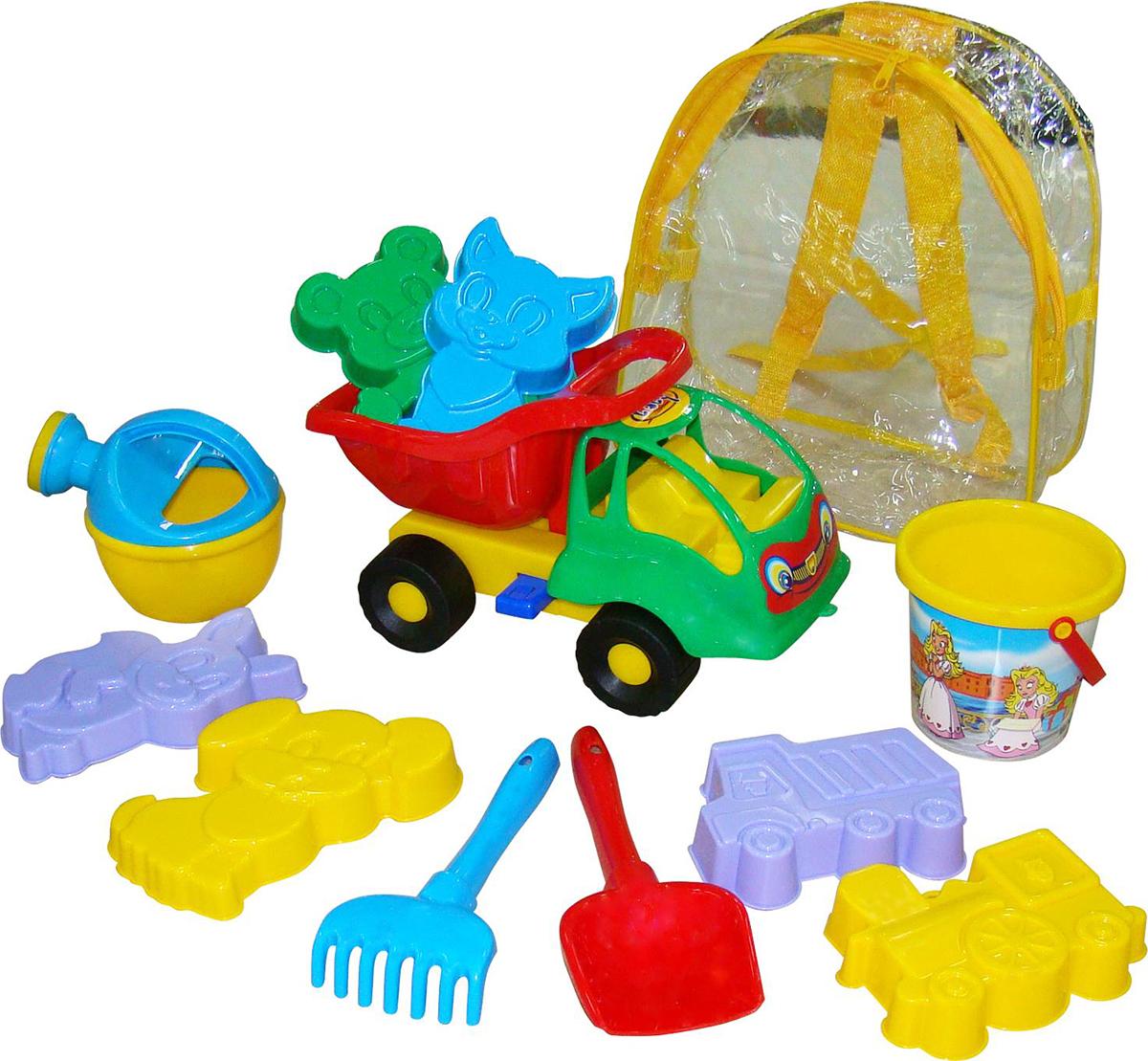 Полесье Набор игрушек для песочницы №211 Муравей, цвет в ассортименте