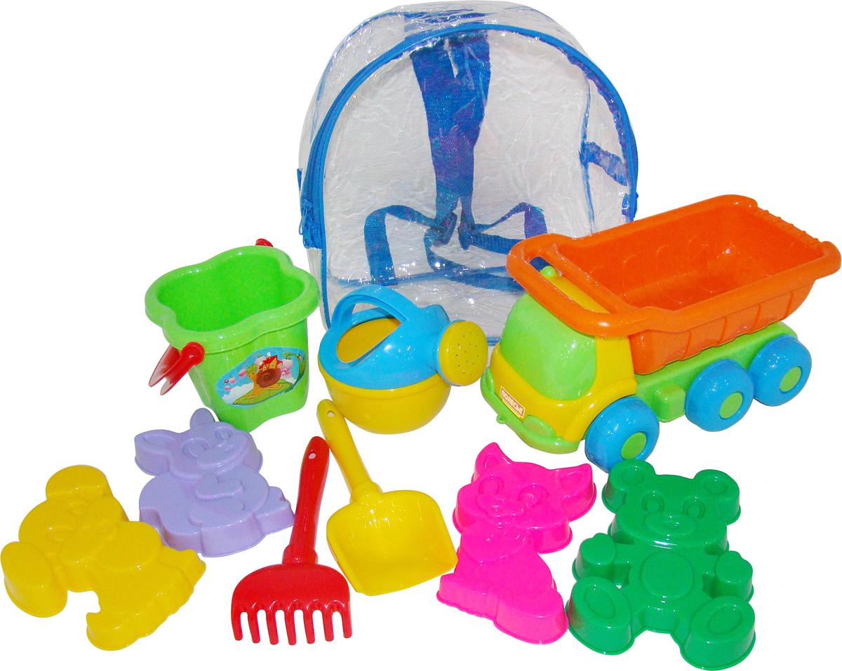 Полесье Набор игрушек для песочницы №273 Кеша, цвет в ассортименте