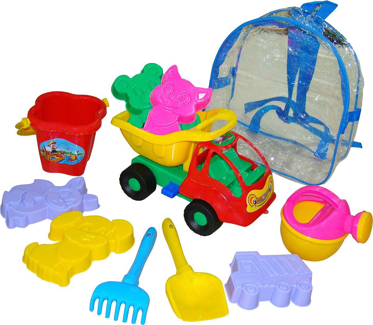 Полесье Набор игрушек для песочницы №310 Муравей, цвет в ассортименте