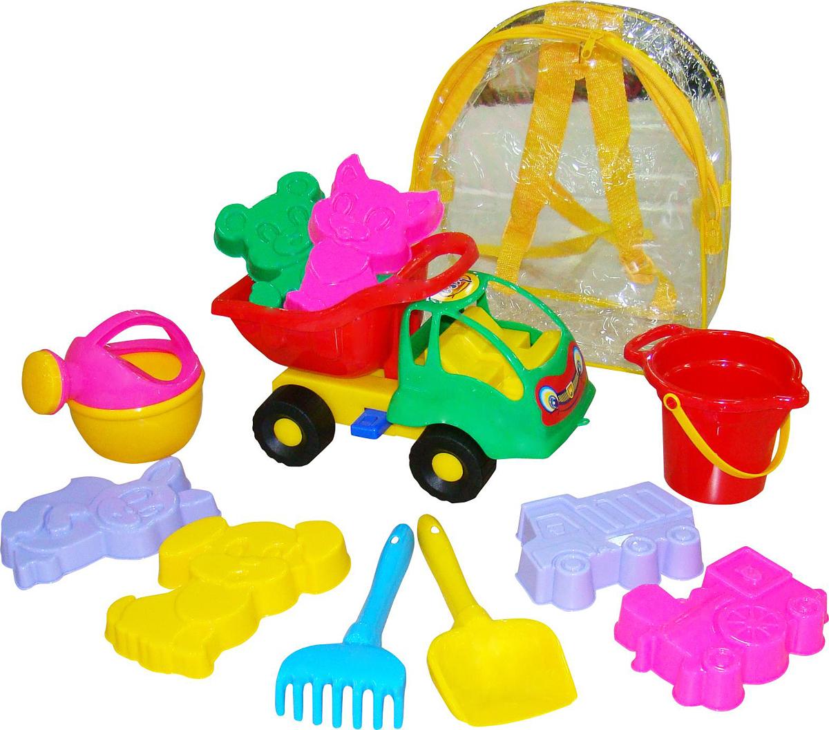 Полесье Набор игрушек для песочницы №352 Муравей, цвет в ассортименте