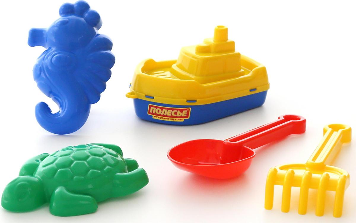 Полесье Набор игрушек для песочницы №370, цвет в ассортименте