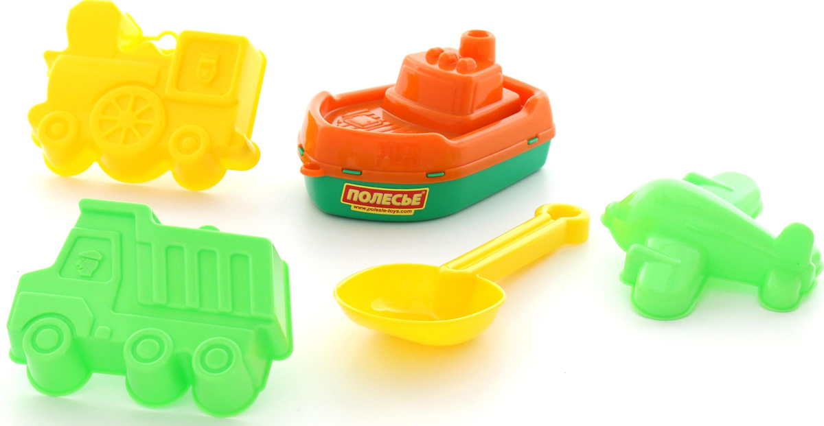 Полесье Набор игрушек для песочницы №380, цвет в ассортименте