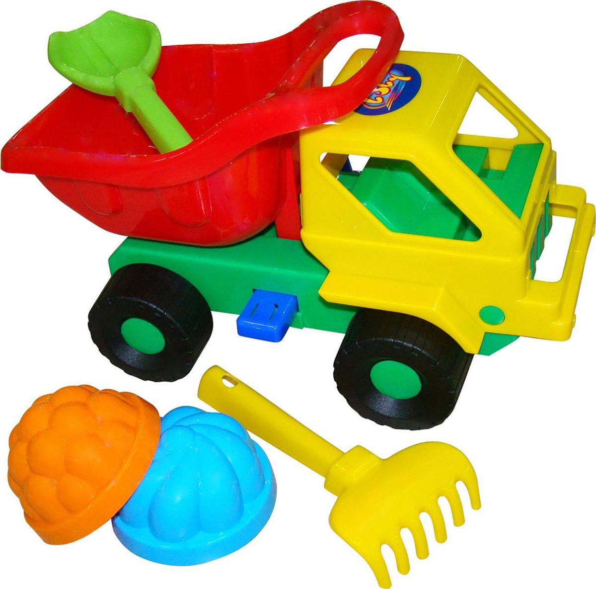 Полесье Набор игрушек для песочницы №48 Кузя-2, цвет в ассортименте полесье набор игрушек для песочницы 467 цвет в ассортименте
