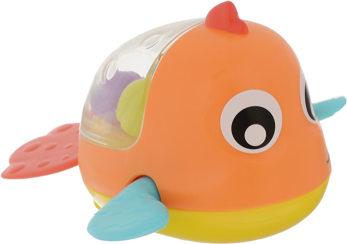 Playgro Игрушка для ванной Рыбка цвет оранжевый голубой
