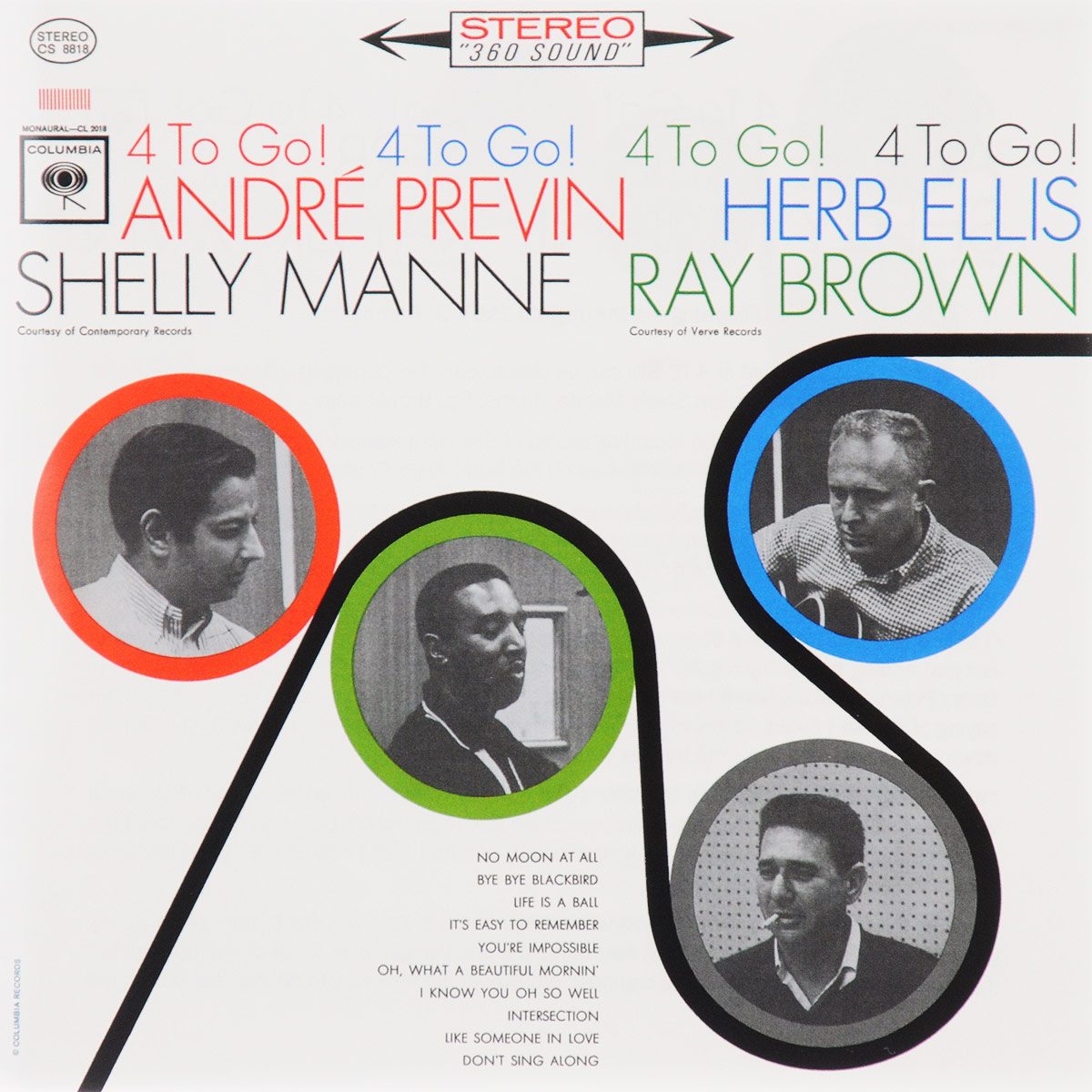 Андрэ Превен Andre Previn. 4 To Go! andre previn page 7