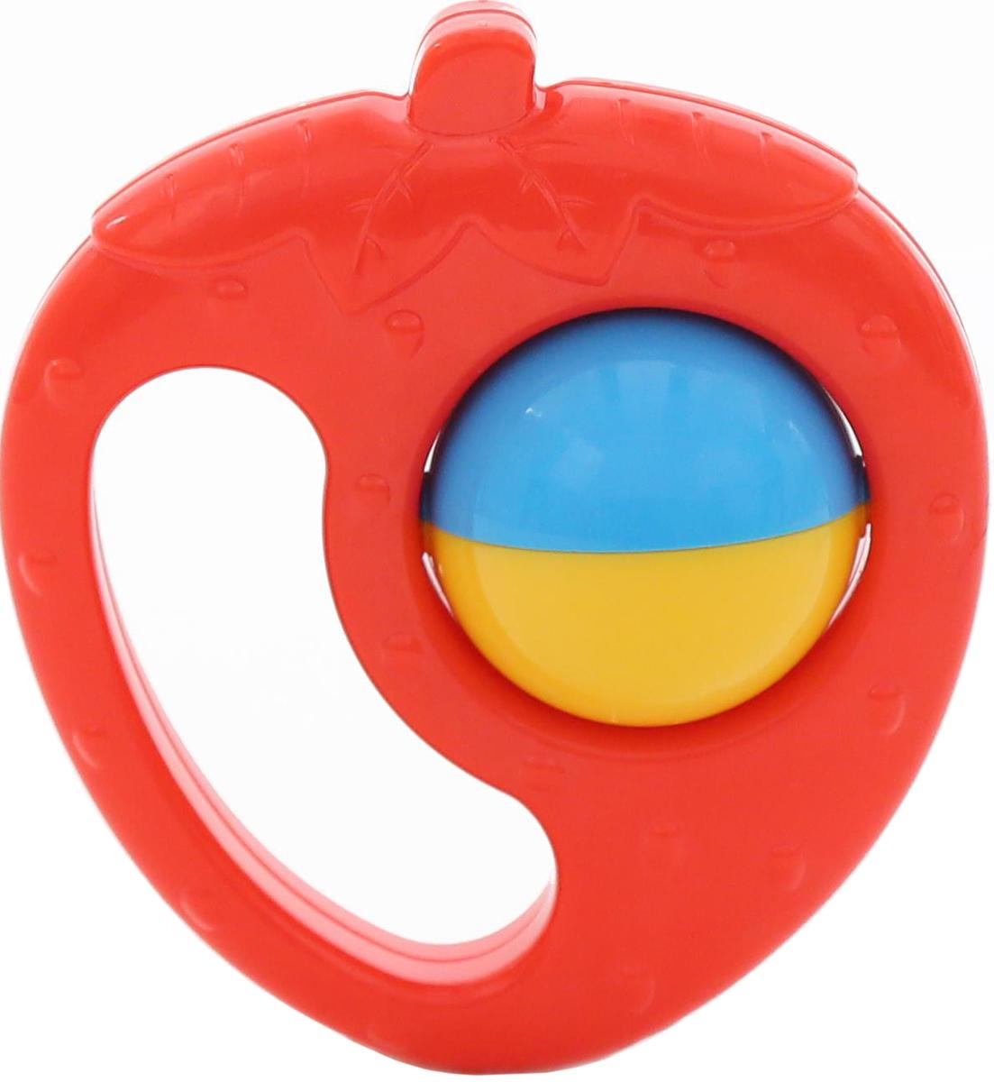 Полесье Погремушка Клубника, цвет в ассортименте