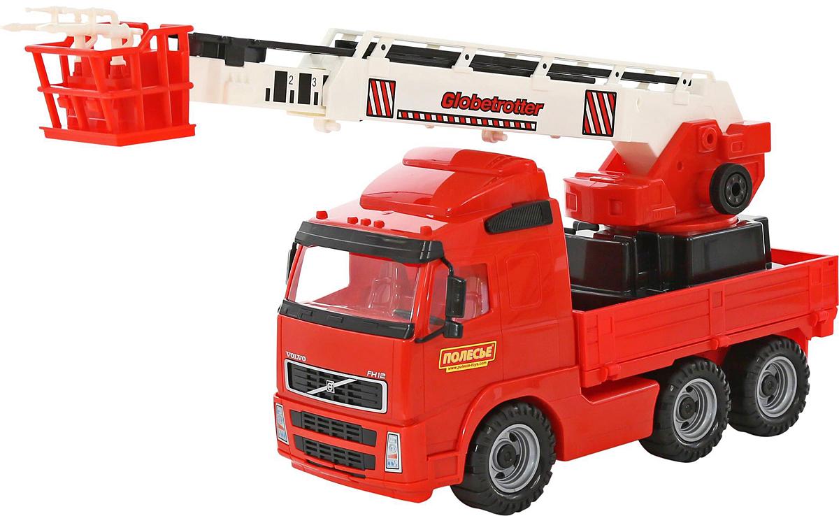 Полесье Пожарный автомобиль Volvo 58379, цвет в ассортименте автомобиль пожарный полесье volvo в сеточке 8787