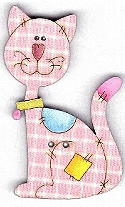 Пуговица декоративная Aurora Кошка, цвет: розовый. AU-B4639 пуговица декоративная aurora кошка цвет розовый au b4755