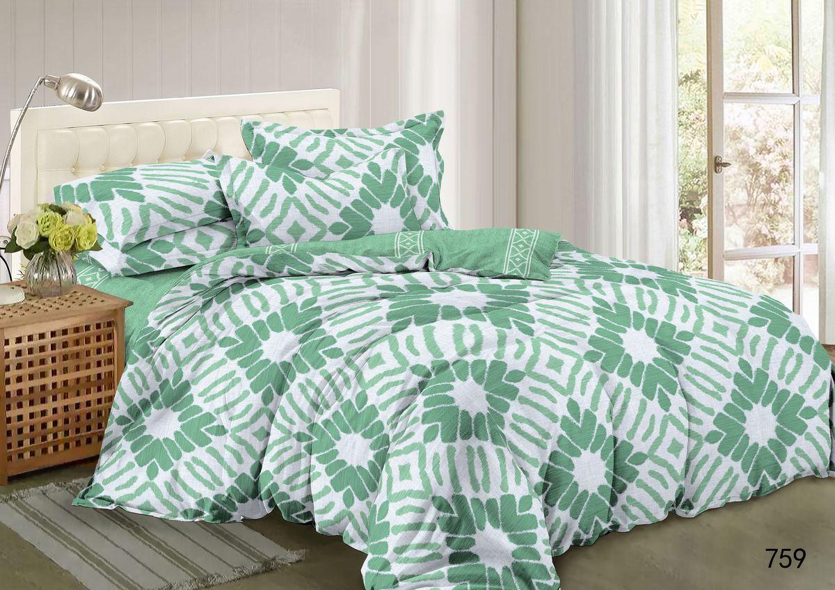 Комплект белья Guten Morgen, 2-спальный, наволочки 70х70. А-759-175-180-70