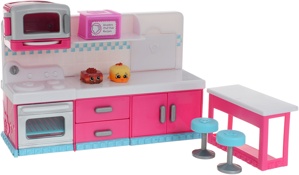 Shopkins Набор фигурок с мебелью Веселая кухня