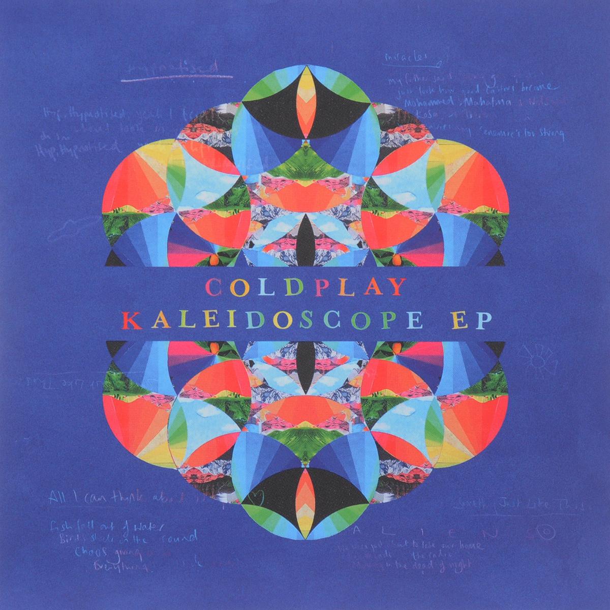 Coldplay Coldplay. Kaleidoscope Ep майка классическая printio coldplay