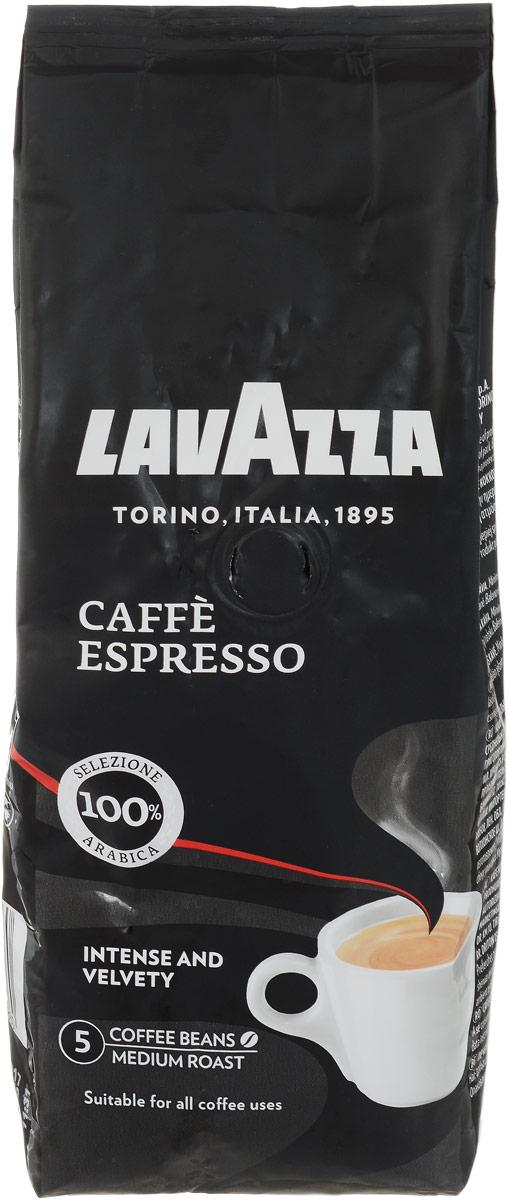 Lavazza Caffe Espresso кофе в зернах, 250 г lavazza caffe espresso 1000 beans эспрессо зерно вакуумная упаковка