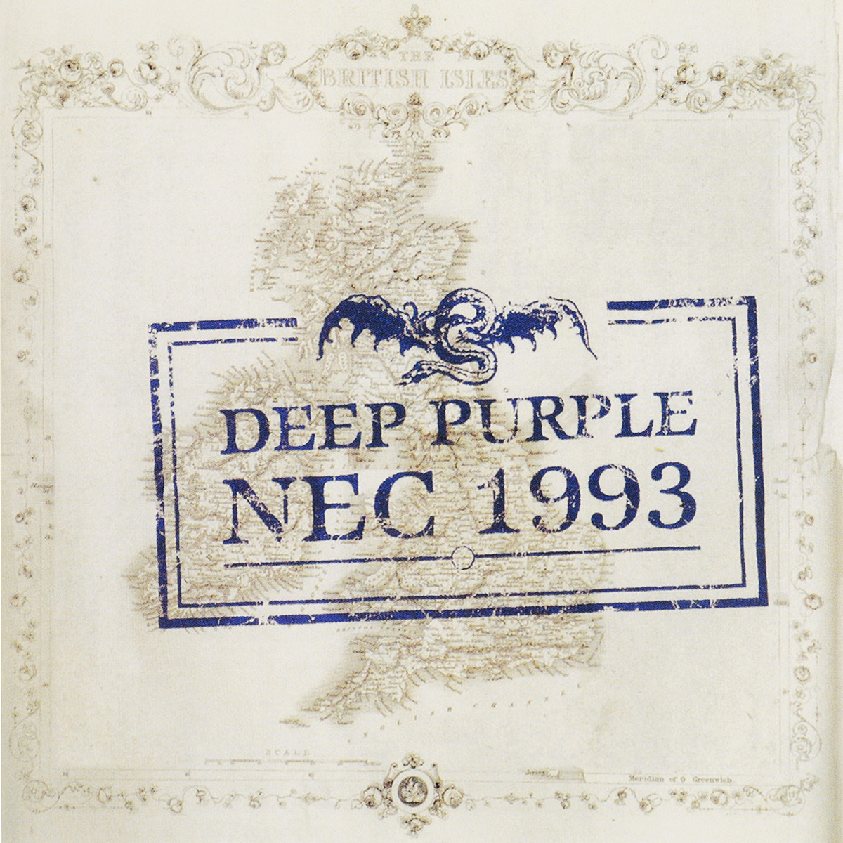 Deep Purple Deep Purple. Nec 1993 (2 CD) deep purple deep purple classic deep purple