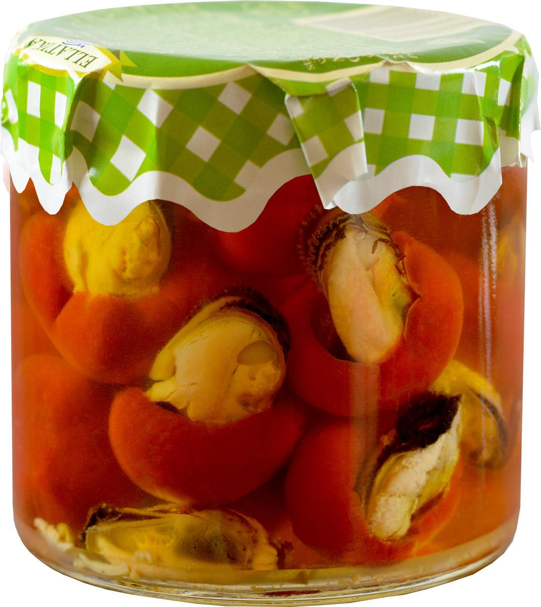 Ellatika красный сладкий перец фаршированный мидиями в масле, 210 г100200000615Холодные и горячие закуски - это небольшие и легкие блюда, которые подаются в средиземноморском регионе как аперитив. Такие закуски также хорошо подойдут к напиткам, добавляя им особенный вкус. Эти блюда, со свежими и натуральными ингредиентами подаются на средиземноморский стол уже в течение нескольких поколений и являются традиционными. Свежие салаты, фаршированные виноградные листья, жаренные на огне сладкие перцы, вяленные помидоры, сочные соусы, пирожки из шпината и маринованные овощи вместе на одном столе.