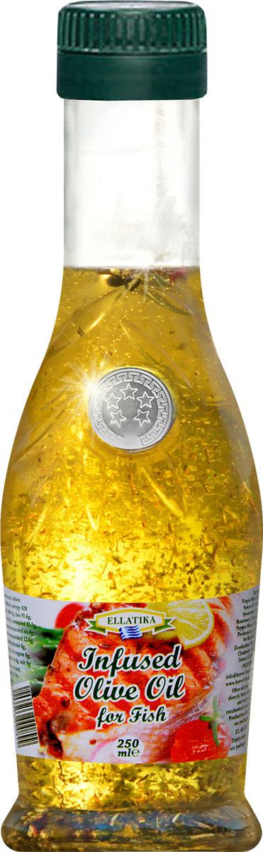 Ellatika ароматное оливковое масло для рыбы, 250 мл12357697До жарки, придайте вашей рыбе изумительный вкус средиземноморского деликатеса. Масла для здорового питания: мнение диетолога. Статья OZON Гид