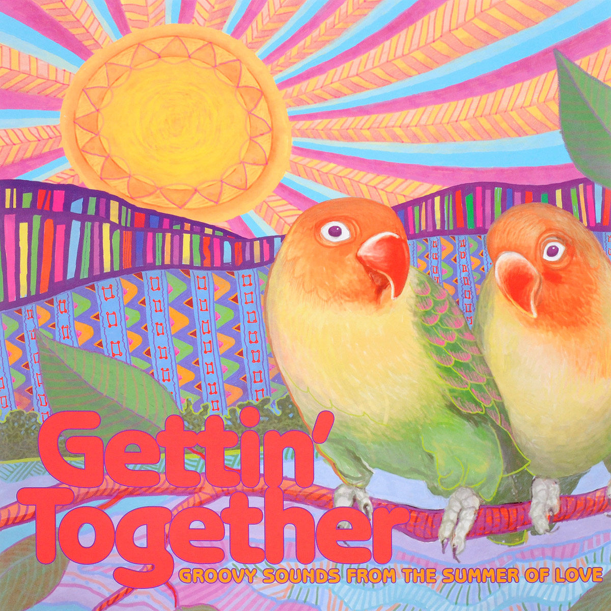 цена на Gettin' Together. Groovy Sounds From The Summer Of Love (LP)