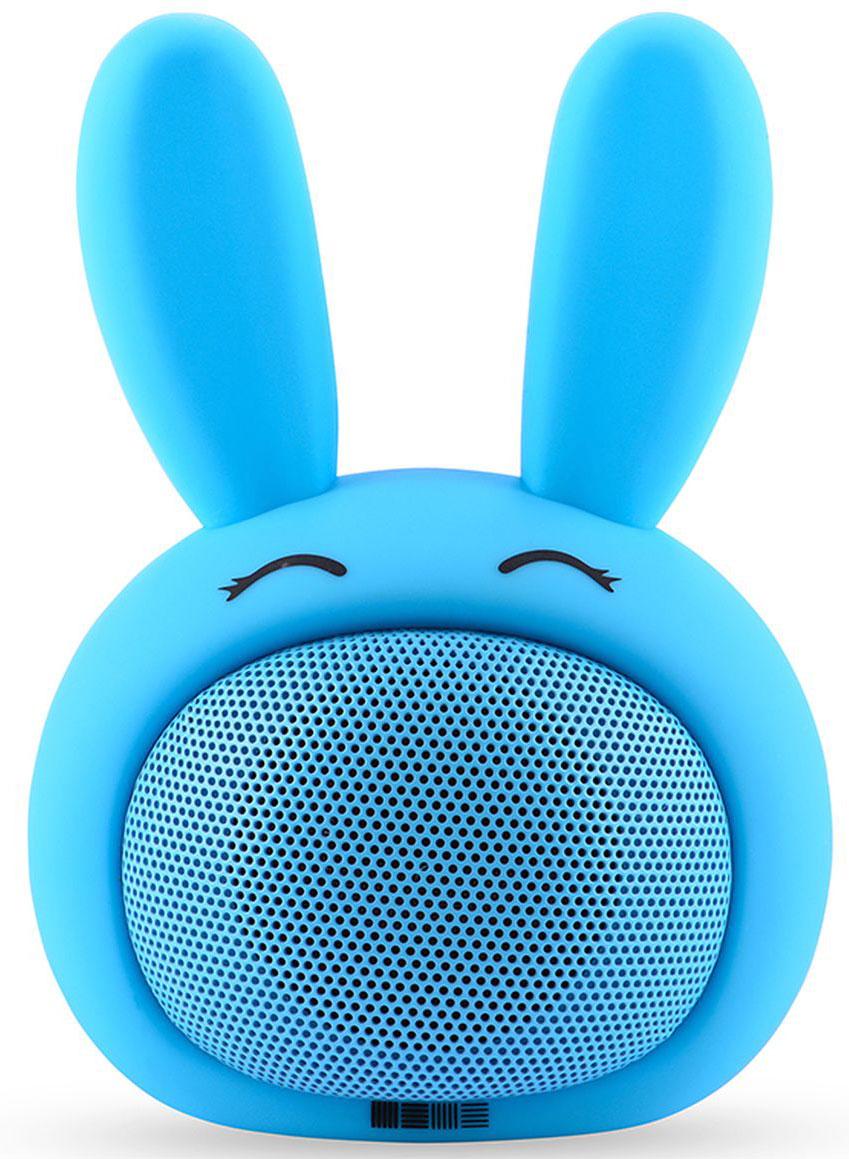 Беспроводная колонка Interstep Funny Bunny 3W SBS-150, Blue невидимка для волос funny bunny розовые цветы 2 шт