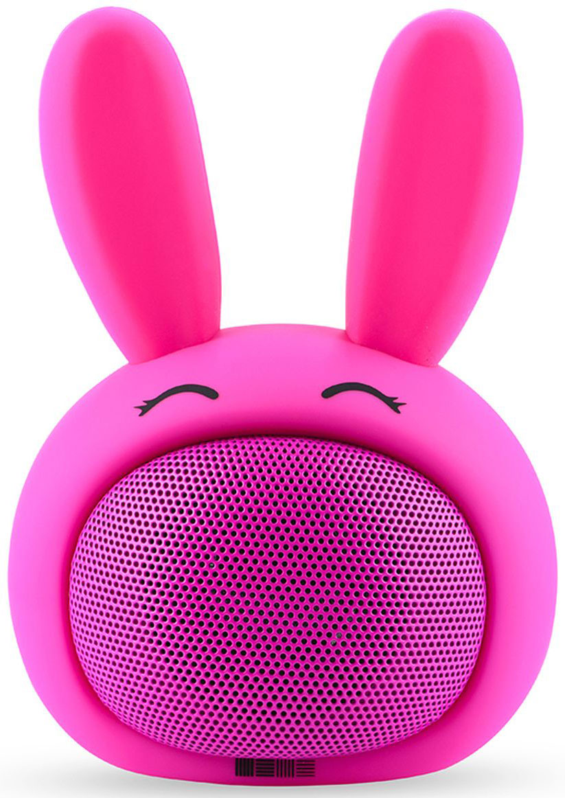 Беспроводная колонка Interstep Funny Bunny 3W SBS-150, Pink mp 05 portable 3w 2 ch bluetooth v2 0 speaker w suction cup pink white