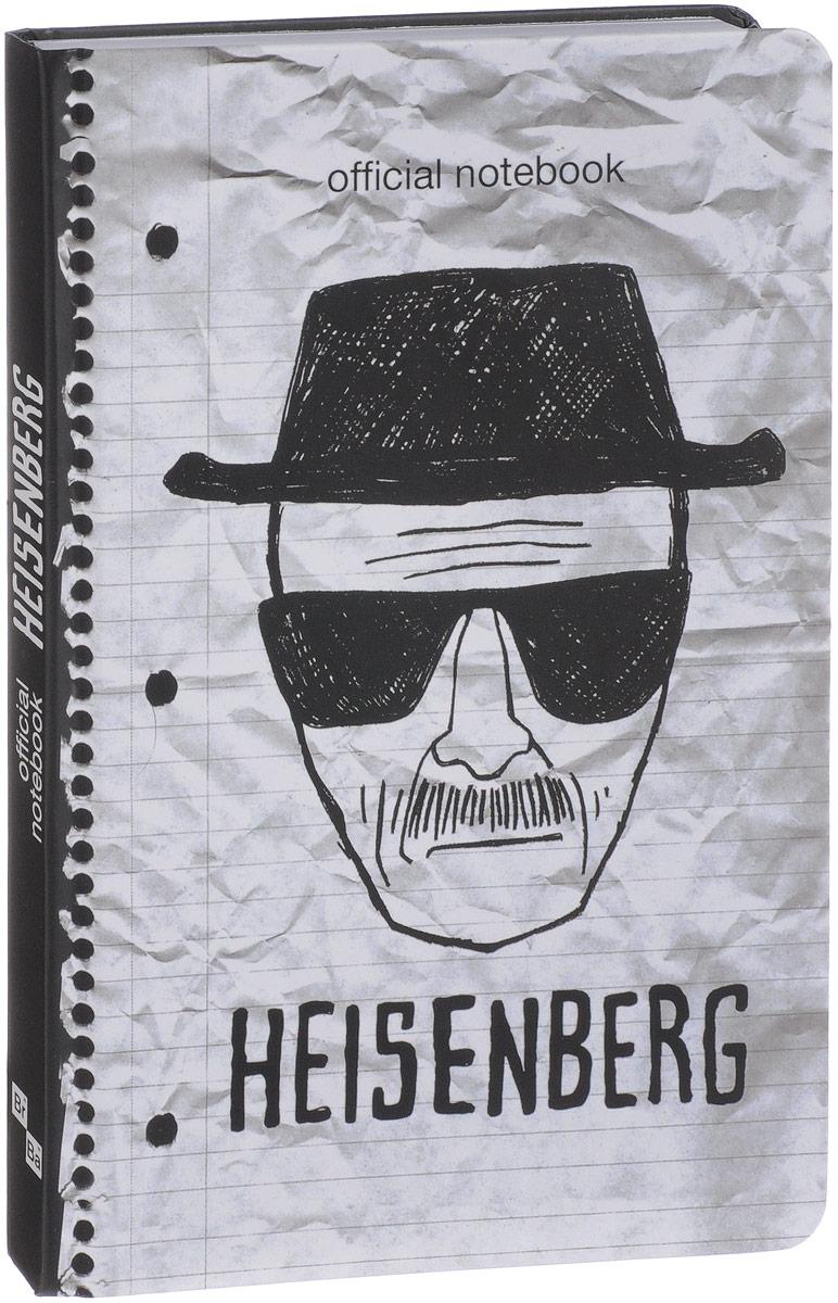 """Мистер Хайзенберг. Блокнот """"Breaking Bad"""""""