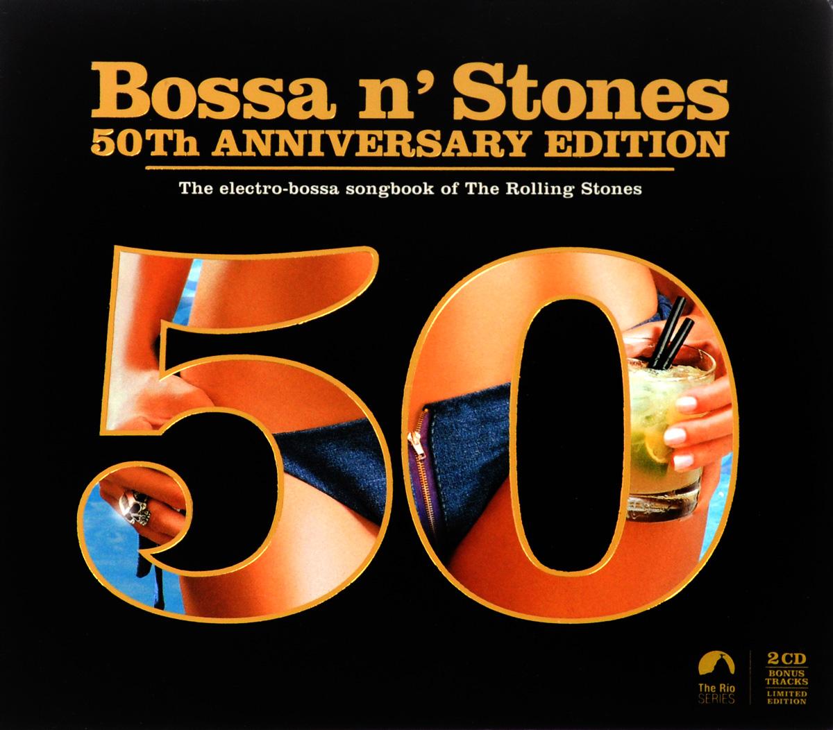 Bossa n' Stones 50th Anniversary Edition (2 CD) secret of the stones cd new edition