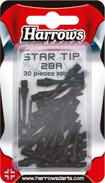 Иглы для дротиков запасные Harrows Софтип Кейпойнт, цвет: черный, 30 шт
