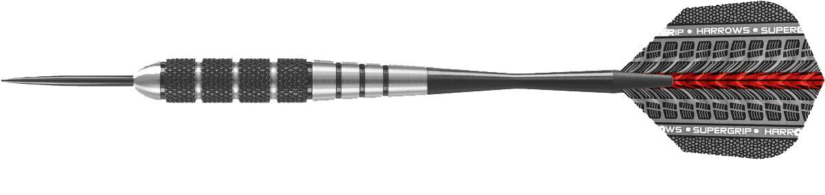 Набор дротиков Harrows Блэк Джек, цвет: черный металлик, 22 г, 3 шт