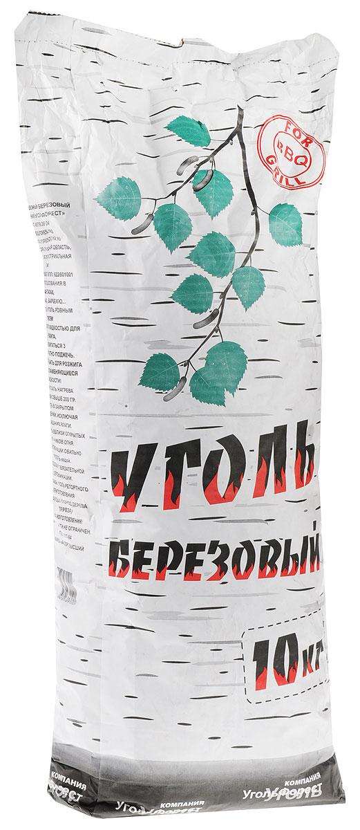 Уголь березовый Уголь Форест, 10 кг уголь берёзовый сamping рalisad 3 кг