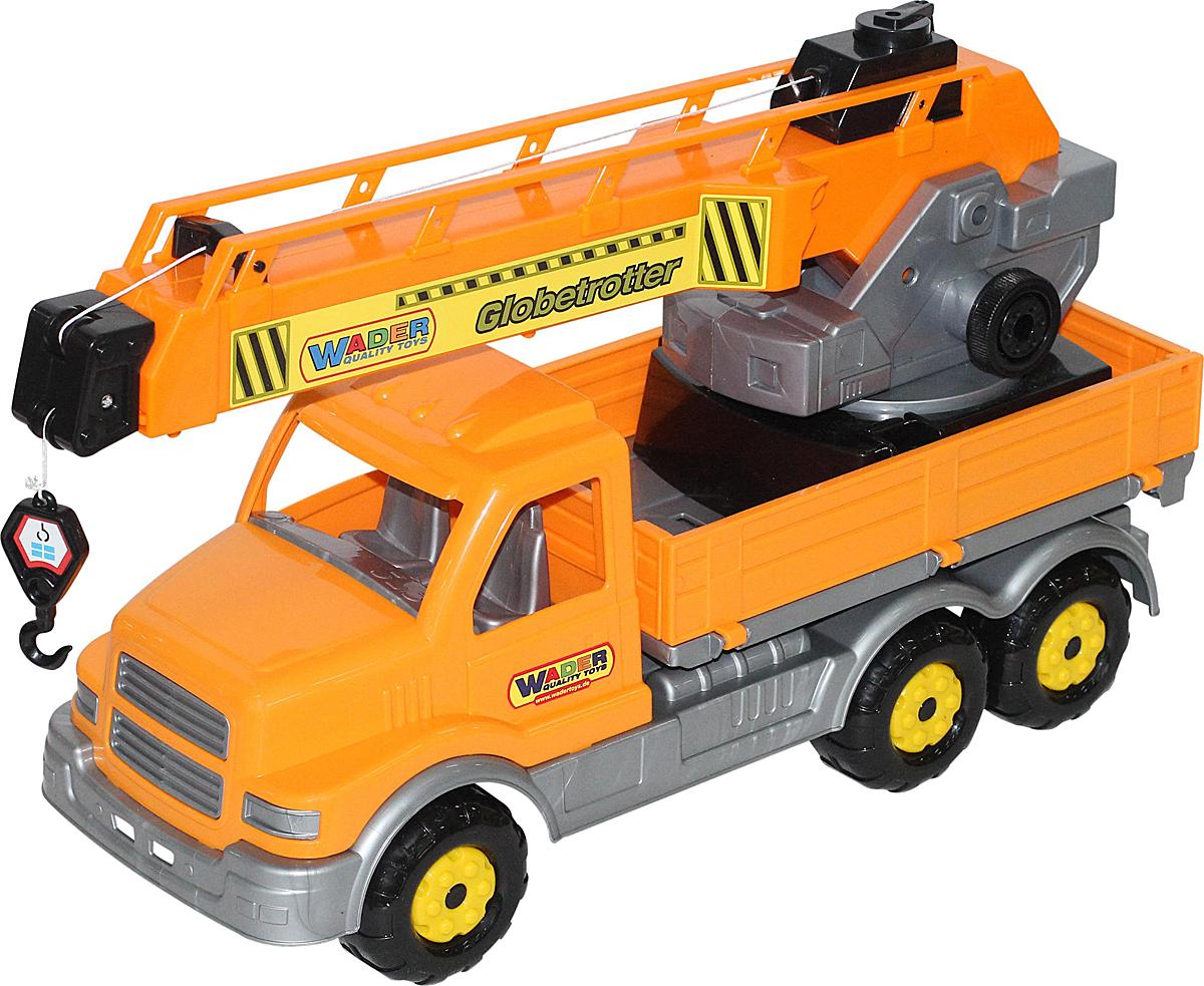 Полесье Автокран Сталкер, цвет в ассортименте детские игрушки машины автокран