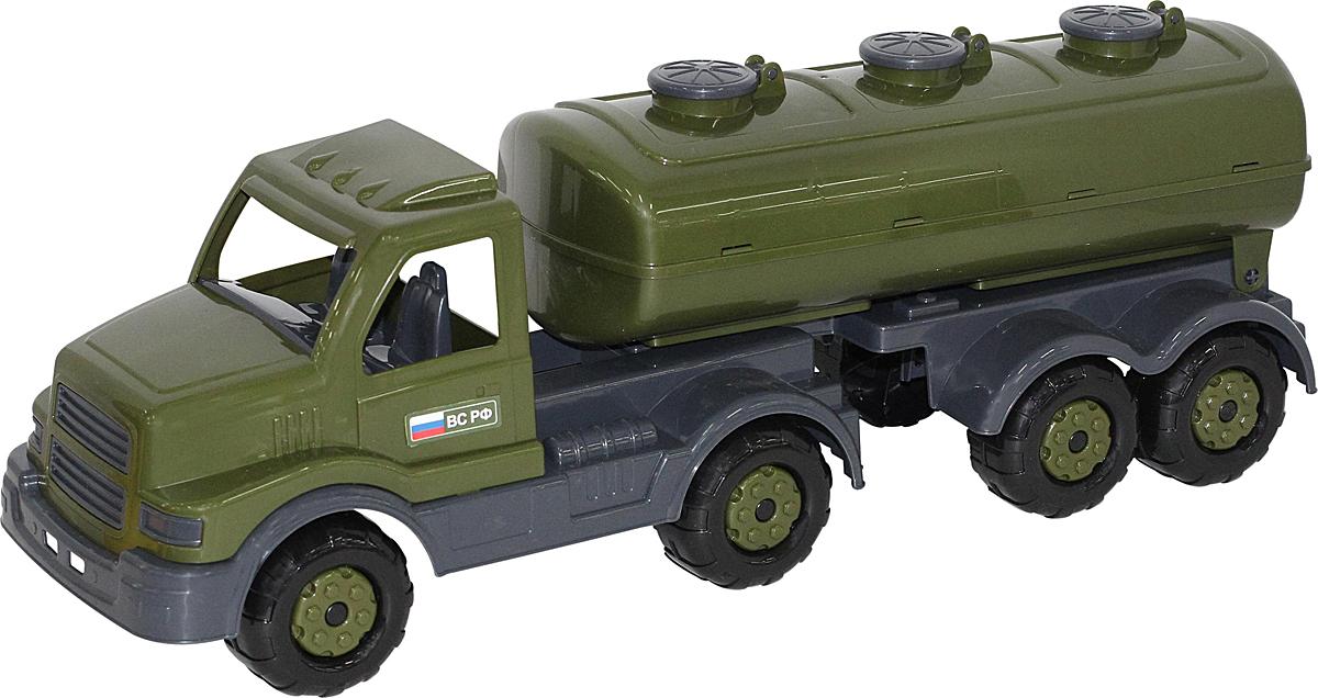 Полесье Военный автомобиль Сталкер с полуприцепом-цистерной, цвет в ассортименте недорого
